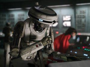 Droide de la película Han Solo: Una historia de Star Wars L3-37
