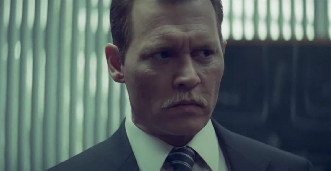 Fotograma de la película City of Lies en el que aparece johnny Depp.