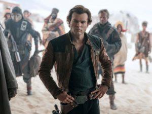 Han Solo interpretado por Alden Ehrenreich.
