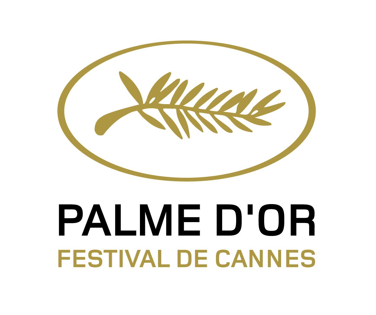 Logotipo que representa a la palma de oro del Festival de Cannes.
