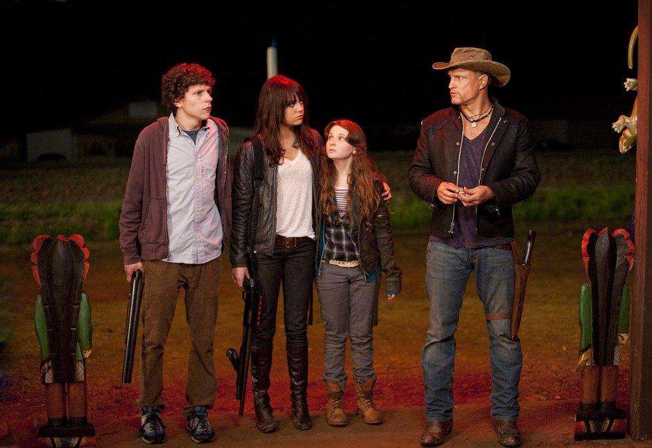 Imagen de una de las escenas de la película Bienvenidos a Zombieland.