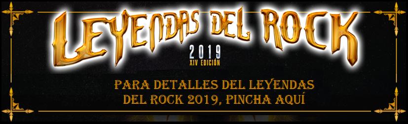 Detalles Leyendas del Rock 2019