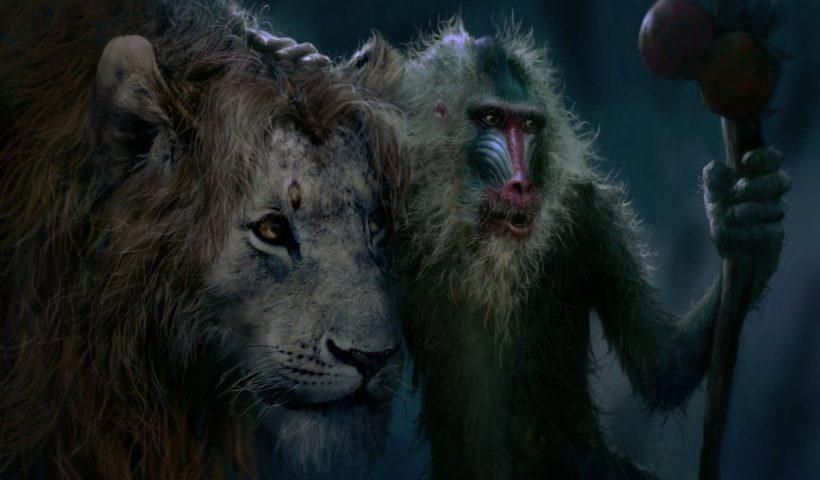 Escena del Rey león (2019)