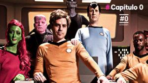 Capitulo 0 rememora antiguas series como Star Trek.
