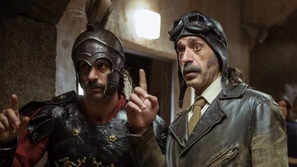Alonso y Pacino en una de sus misiones.