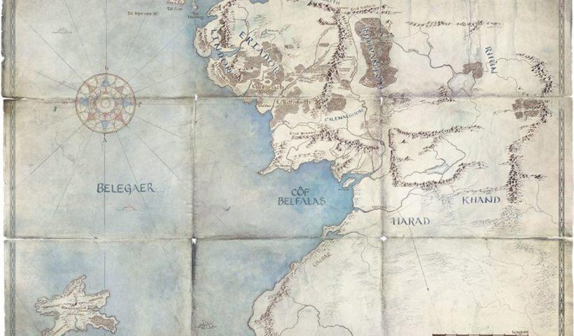 Mapa 5 el señor de los anillos