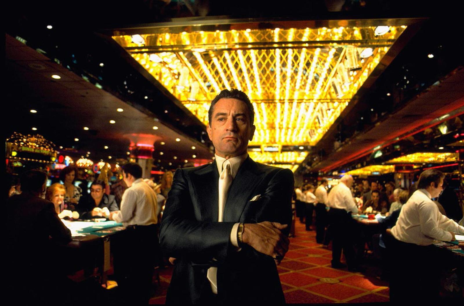 Rebert De Niro como Sam Rothstein en nuestro listado de mejores películas de gangsters