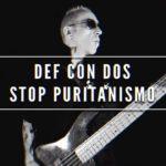 Def Con Dos presenta 'Stop puritanismo', tercer single de su próximo álbum