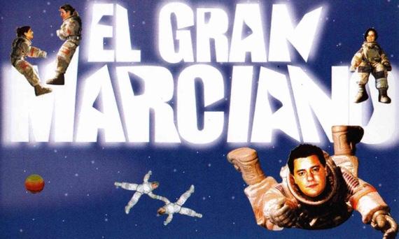 Póster de la película el gran marciano