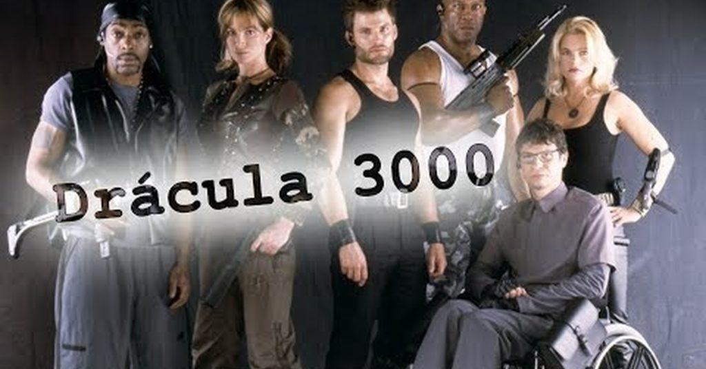 Póster Drácula 3000