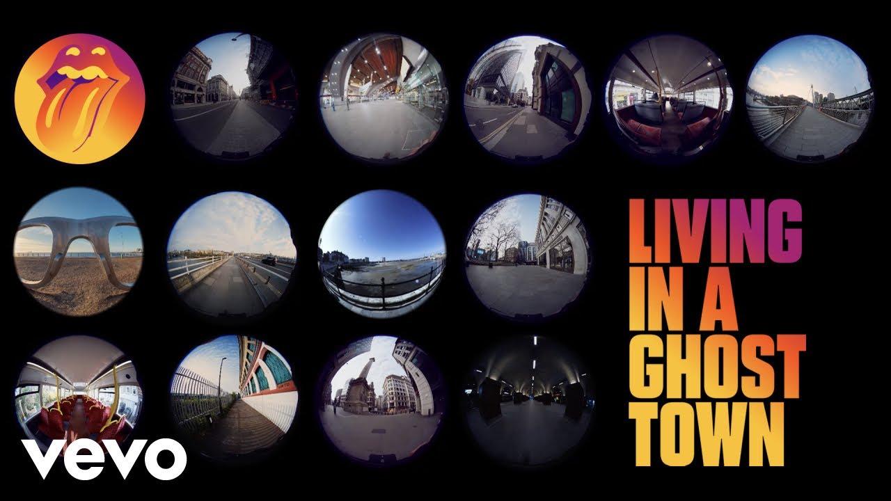 Nueva canción de The Rolling Stones: 'Living in a Ghost Town'