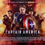 Orden películas Marvel | capitan america el primer vengador poster
