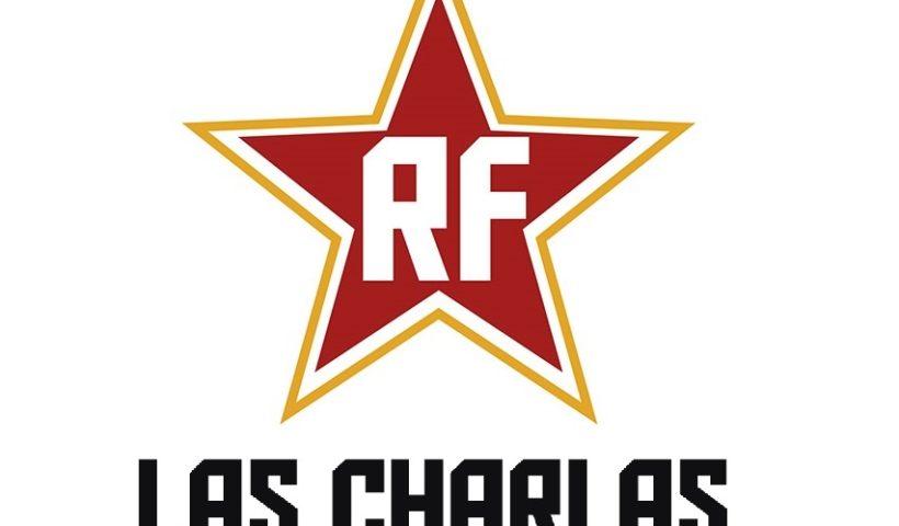 Logo las charlas de rock and films