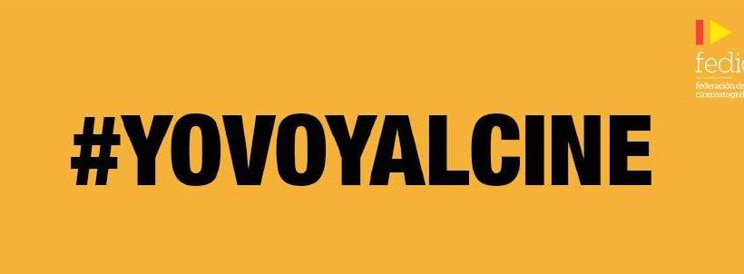 #YoVoyAlCine campaña para recuperar la confianza
