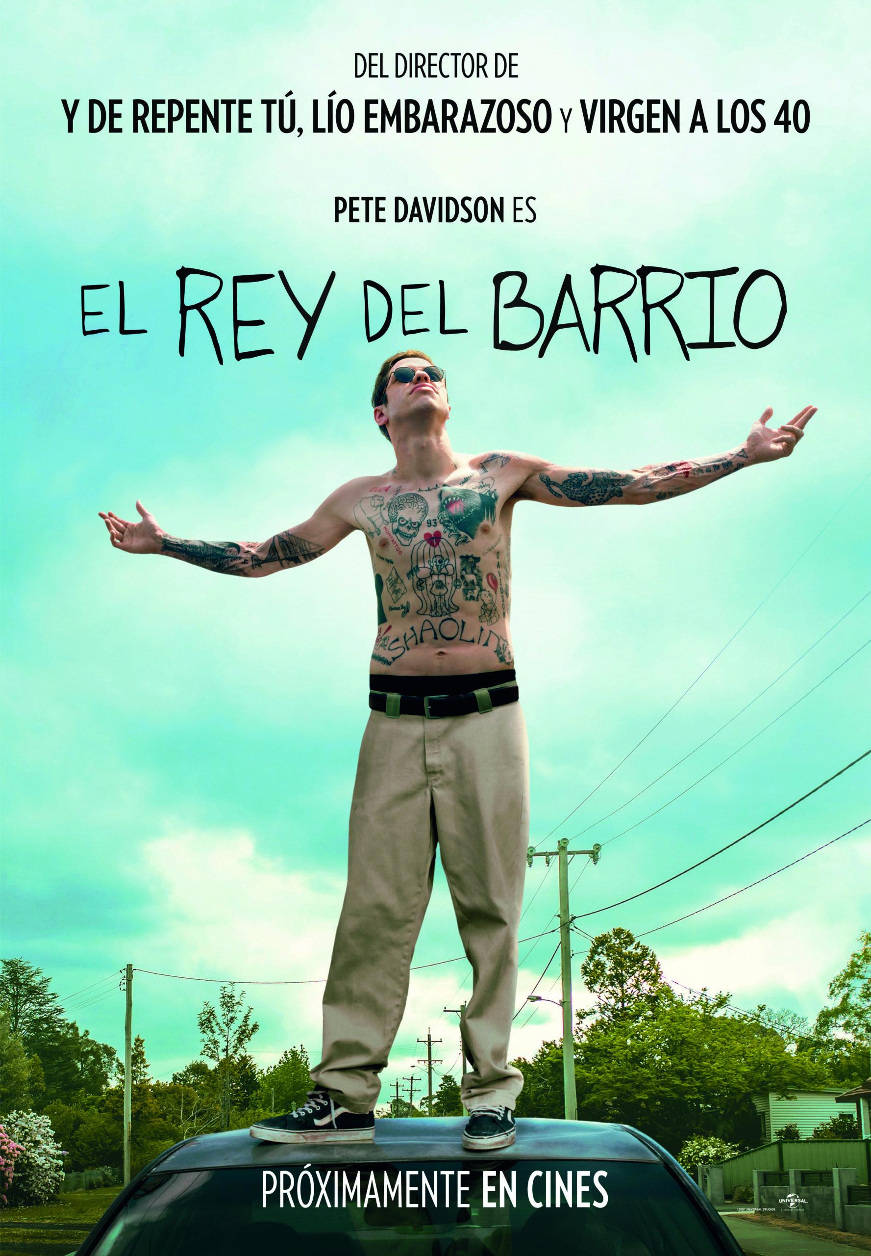 cartel El rey del barrio poster