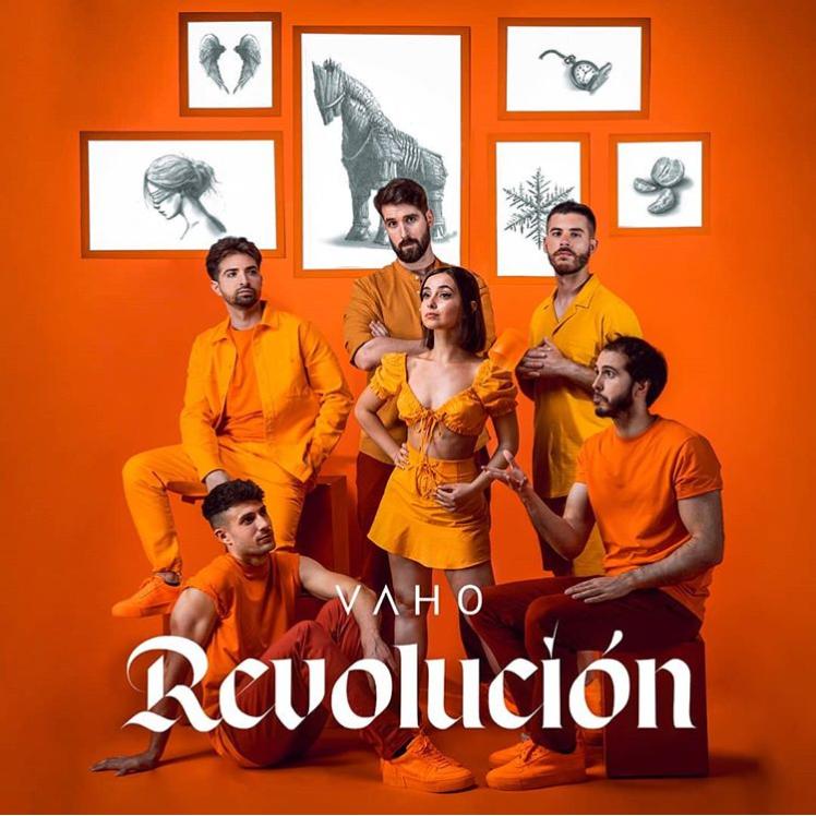 Vaho portada de su EP Revolución