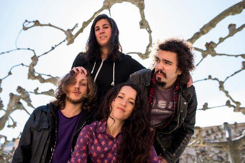 Los cuatro miembros de Hermana Furia