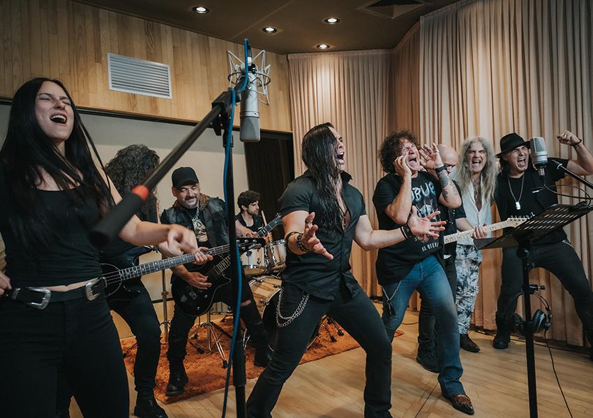Larga vida al metal canción de Tete novoa y otros grandes del rock y el metal español